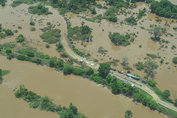 Aerial-view-of-floods