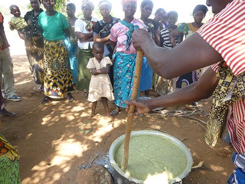 Communal Feeding- Kwitanda,  2014