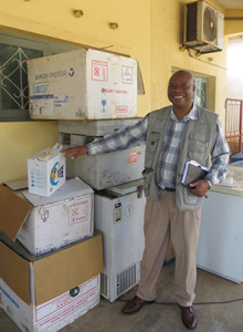 cold boxes in Mozambique