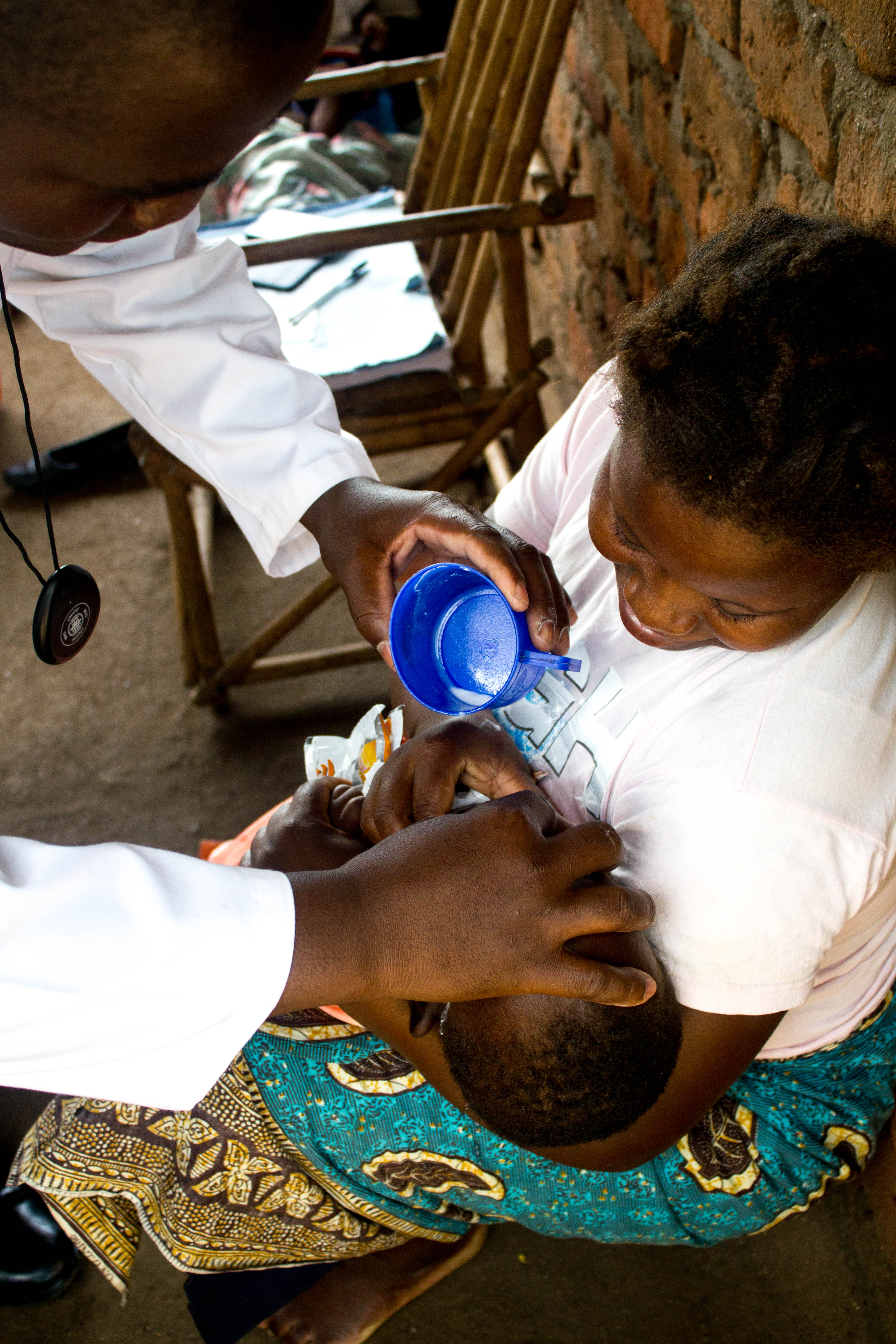 Malawi village clinic