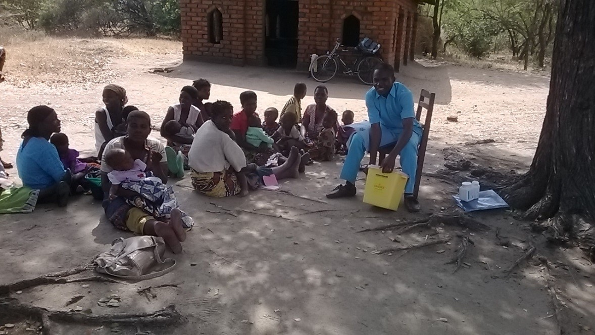 Malawi village clinic