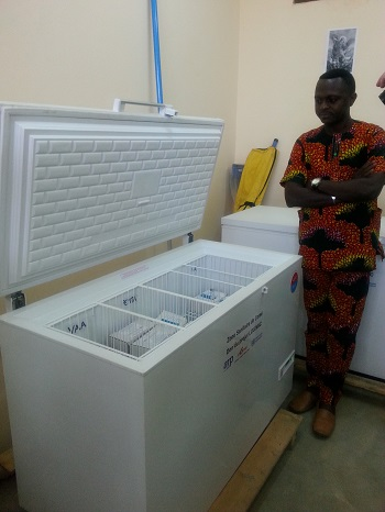 logistician in Benin